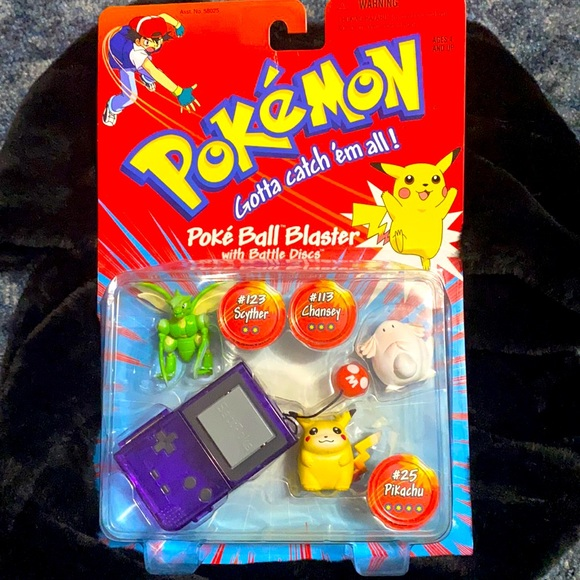 Pokémon Ball Blaster with Battle Discs